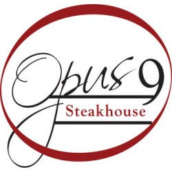 $50.00 Opus 9 Steakhouse gift voucher for only $25.00