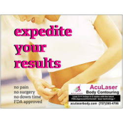 $60.00 Aculaser Body Contouring Voucher for $30.00